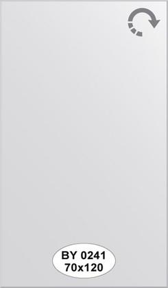 Зеркало 70x120см с фацетом 5мм Evoform BY 0241