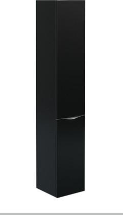 Шкаф-пенал подвесной, 1 дверь, 1 корзина, левый 30x34x166см Verona Urban UR303L