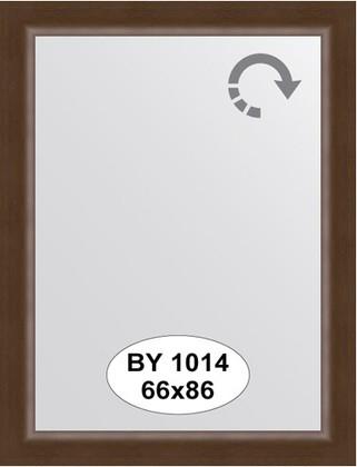 Зеркало 66x86см в багетной раме орех Evoform BY 1014