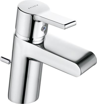 Смеситель для раковины однорычажный с донным клапаном, хром Kludi O-CEAN 383400575