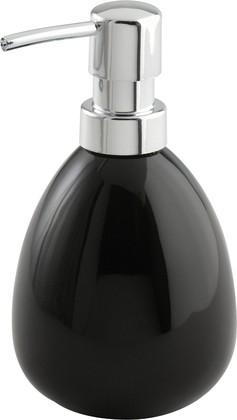 Ёмкость для жидкого мыла чёрная Wenko POLARIS 17843100