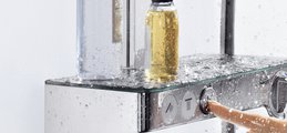 Душевой комплект с термостатом, хром Hansgrohe Raindance Select E 300 Showerpipe 27126000