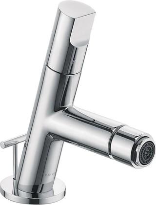 Смеситель для биде однорычажный стандартный с донным клапаном, хром Kludi NEW WAVES 572160575