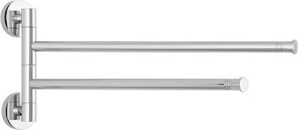 Держатель полотенец Веер-2 поворотный L400 хром Сунержа Каньон 00-3010-2400
