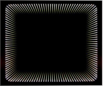 Зеркало 65x79см с LED подсветкой Dubiel Vitrum WENECJA 5905241001012