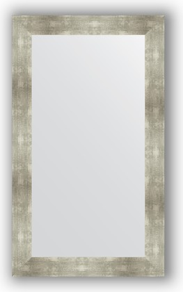 Зеркало в багетной раме 70x120см алюминий 90м Evoform BY 3218