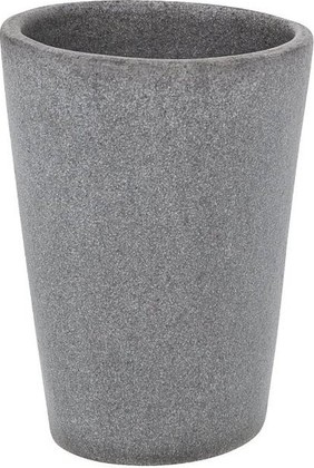 Стакан серый Wenko PEBBLE STONE 19490100