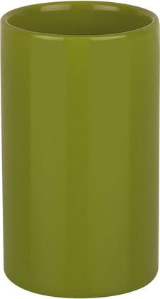 Стакан керамический зелёный Spirella TUBE 1016076