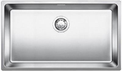 Кухонная мойка без крыла, с клапаном-автоматом, нержавеющая сталь полированная Blanco ANDANO 700-IF 518617
