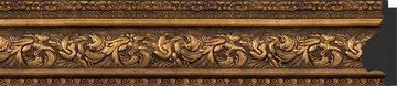 Зеркало с фацетом в багетной раме 60x90см виньетка состаренная бронза 109мм Evoform BY 3427