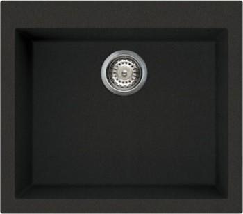 Кухонная мойка без крыла, гранит, чёрный Omoikiri Bosen 57-BL 4993145