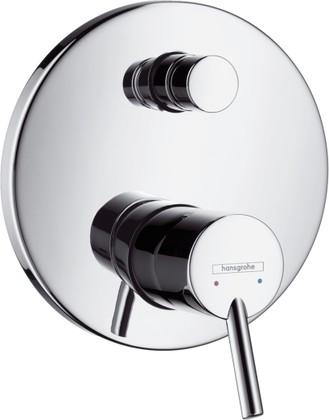 Смеситель для ванны однорычажный встраиваемый без встраиваемого механизма и без излива, хром Hansgrohe Talis S 32477000