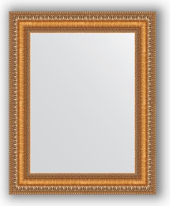 Зеркало в багетной раме 41x51см золотые бусы на бронзе 60мм Evoform BY 3010