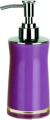 Ёмкость для жидкого мыла с дозатором пены фиолетовая Spirella SYDNEY Acrylic 1011335