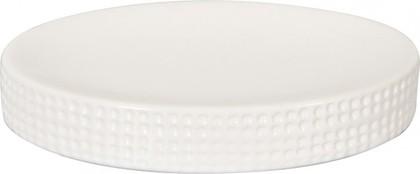 Мыльница керамическая белая Spirella VENISE 4007034