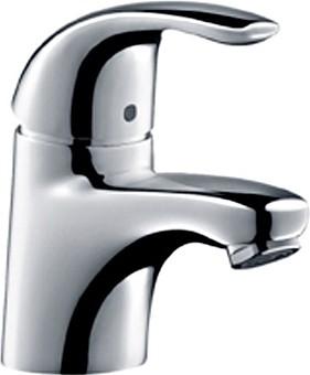 Смеситель однорычажный для раковины, без донного клапана, хром Hansgrohe Focus E 31718000