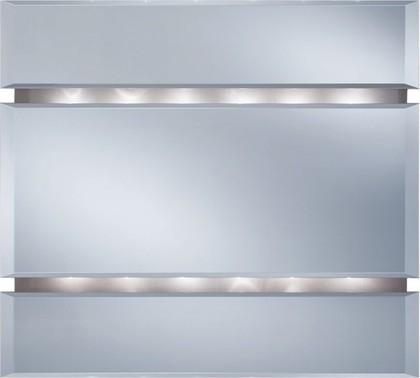 LACRIMA Зеркало с подсветкой, 90x78см с фацетом 5905241900797