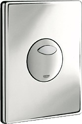 Кнопка смыва для инсталляции для унитаза, хром Grohe SKATE 38862000
