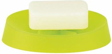 Мыльница пластиковая зелёная Spirella MOVE 1009573