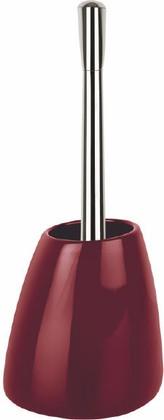 Ёршик для туалета с бордовой подставкой Spirella ETNA SHINY 1016123