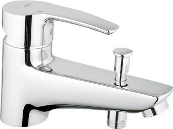 Смеситель однорычажный для ванны, хром Grohe EUROSTYLE 33614001