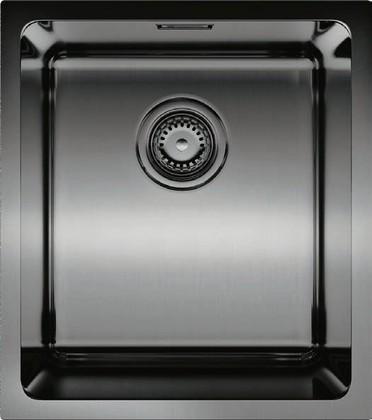 Кухонная мойка без крыла, нержавеющая воронёная сталь Omoikiri Notoro 39-GM 4993079