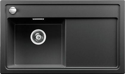 Кухонная мойка чаша слева, крыло справа, с клапаном-автоматом, гранит, антрацит Blanco ZENAR 45 S-F 519190