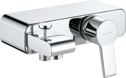 Смеситель для ванны однорычажный с изливом, хром Kludi O-CEAN 387700575