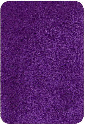 Коврик для ванной 60x90см фиолетовый Spirella HIGHLAND 1013077
