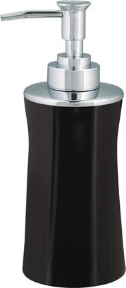 Ёмкость для жидкого мыла чёрная Spirella MALIBU 1017805