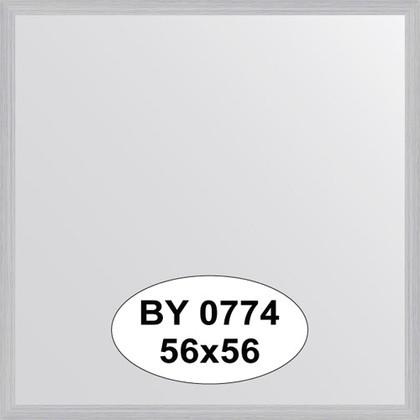 Зеркало 56x56см в багетной раме сталь Evoform BY 0774