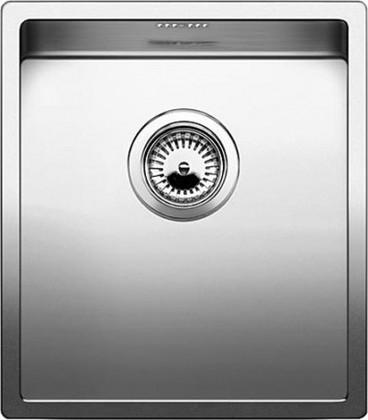 Кухонная мойка без крыла, нержавеющая сталь зеркальной полировки Blanco CLARON 340-U 517211