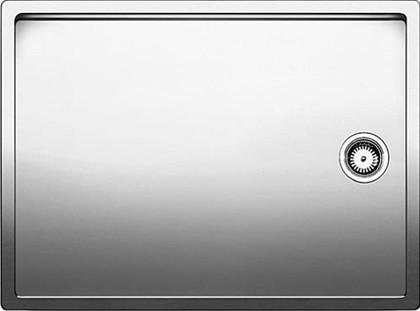 Кухонная мойка без крыла, нержавеющая сталь зеркальной полировки Blanco CLARON 550-T-IF 517277