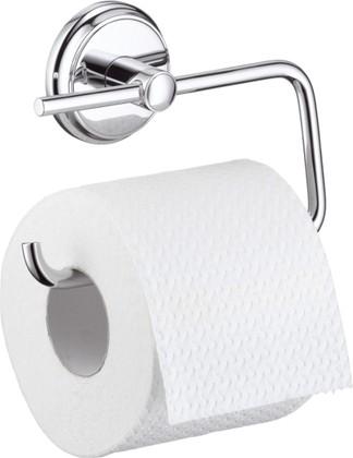 Держатель туалетной бумаги без крышки, хром Hansgrohe Logis Classic 41626000