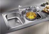 Кухонная мойка оборачиваемая без крыла, нержавеющая сталь матовой полировки Blanco TIPO 8 Compact 513459