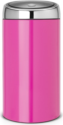 Ведро для мусора 45л розовое Brabantia TOUCH BIN 481963