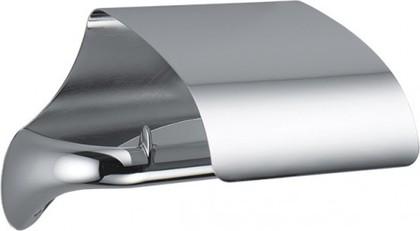 Держатель туалетной бумаги с крышкой, хром Colombo LINK B2491