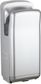 Сушилка для рук настенного монтажа, серебристая Connex HD-1200 JET SILVER