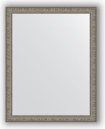 Зеркало в багетной раме 74x94см виньетка состаренное серебро 56мм Evoform BY 3264