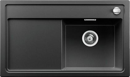 Кухонная мойка чаша справа, крыло слева, с клапаном-автоматом, гранит, антрацит Blanco ZENAR 45 S 519251