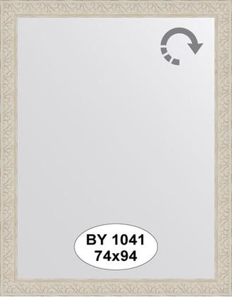 Зеркало 74x94см в багетной раме белёный дуб Evoform BY 1041
