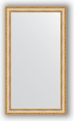 Зеркало в багетной раме 65x115см версаль кракелюр 64мм Evoform BY 3205
