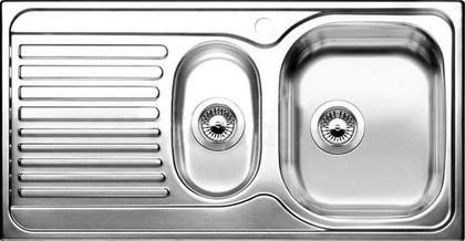 Кухонная мойка оборачиваемая с крылом, нержавеющая сталь матовой полировки Blanco TIPO 6 S Basic 512303