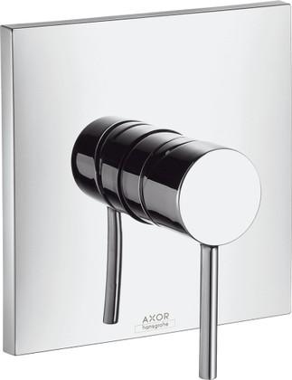 Смеситель для душа однорычажный встраиваемый без встраиваемого механизма и без подключения шланга, хром Hansgrohe AXOR Starck X 10645000