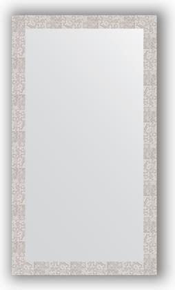Зеркало в багетной раме 76x136см соты алюминий 70мм Evoform BY 3307
