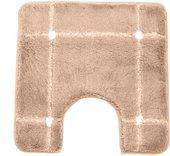 Коврик для туалета Spirella KARO коричневый 55х55см 1013108