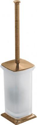 Ёрш для туалета напольный со стеклянной колбой и деталями, бронза Colombo PORTOFINO B3206.bronze