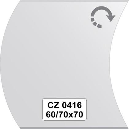 Зеркало для ванной 60/60x70см с фацетом 10мм FBS CZ 0416