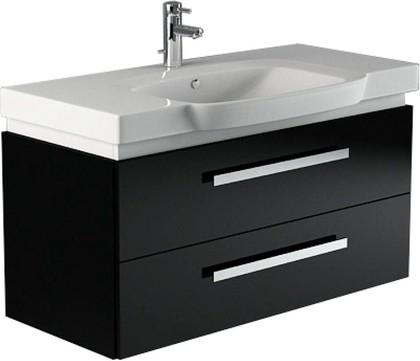Мебель для ванной Verona, коллекция LUSSO Тумба подвесная с раковиной, ширина 100см, 2 ящика с подсветкой, артикул LS102