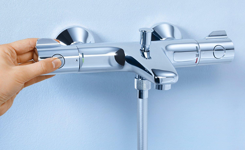 Термостатический смеситель GROHTHERM 800 от Grohe 2015 для ванны